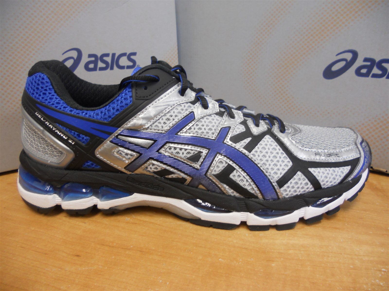new asics gel kayano 21 running shoes mens size 11 5 ebay. Black Bedroom Furniture Sets. Home Design Ideas