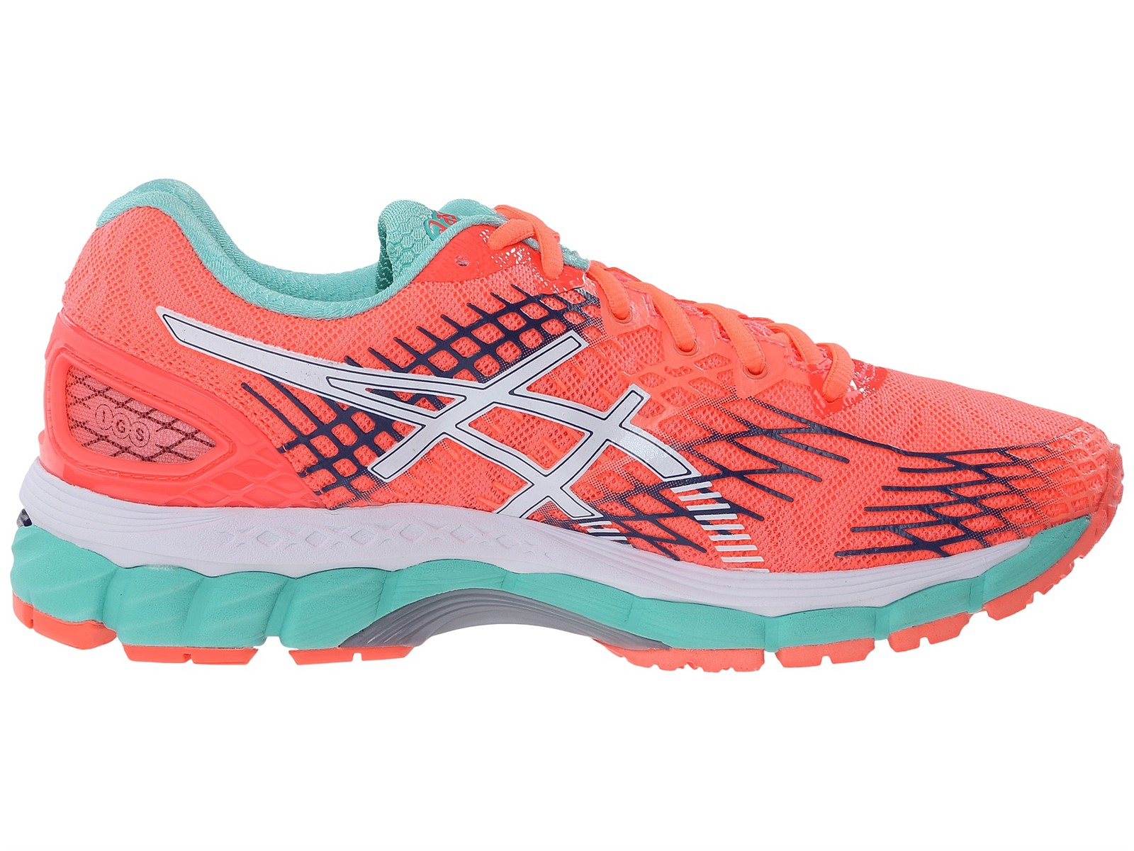 new asics gel nimbus 17 running shoes womens size 7 ebay. Black Bedroom Furniture Sets. Home Design Ideas