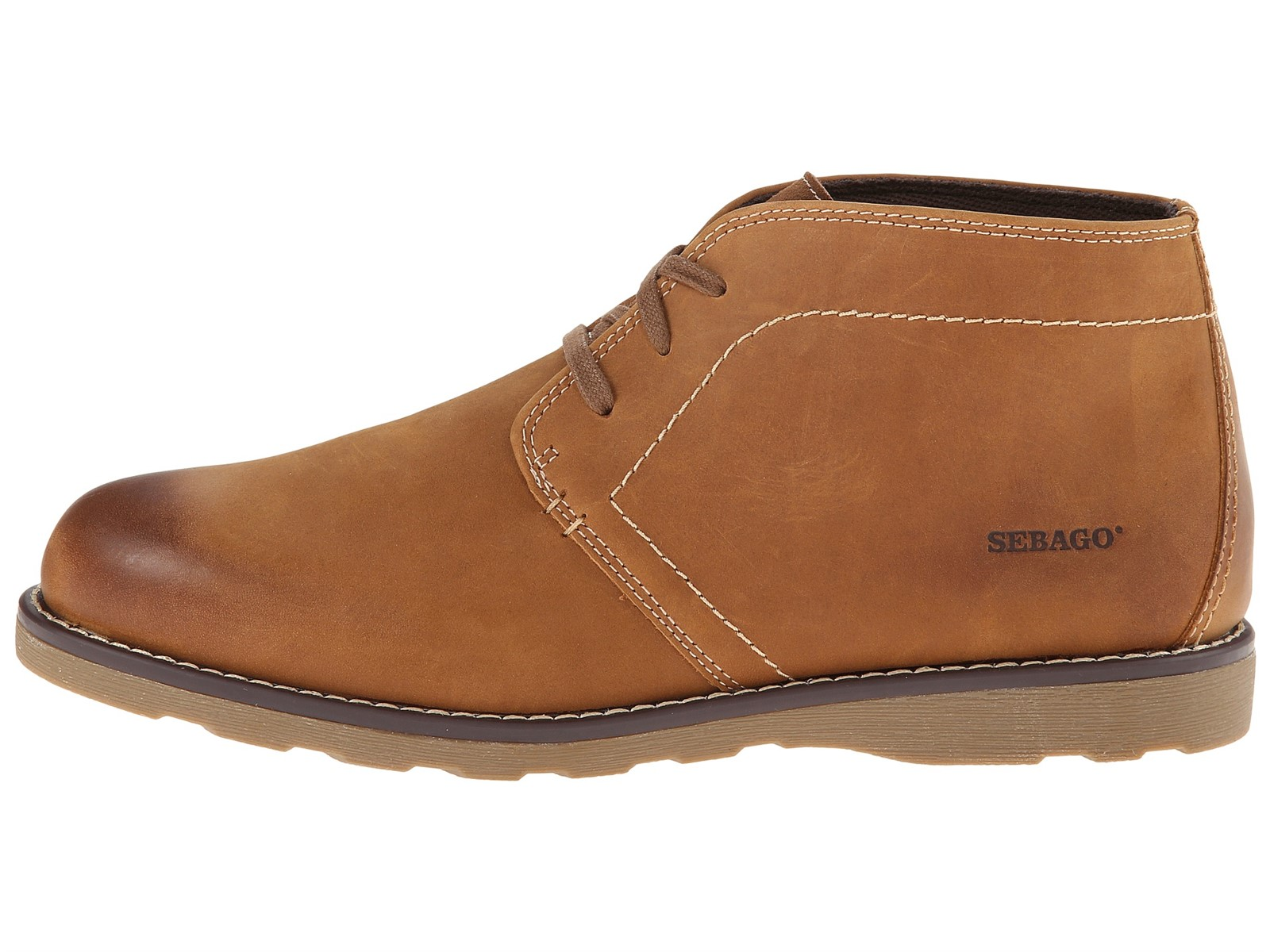 new sebago reese leather chukka boots mens size 7