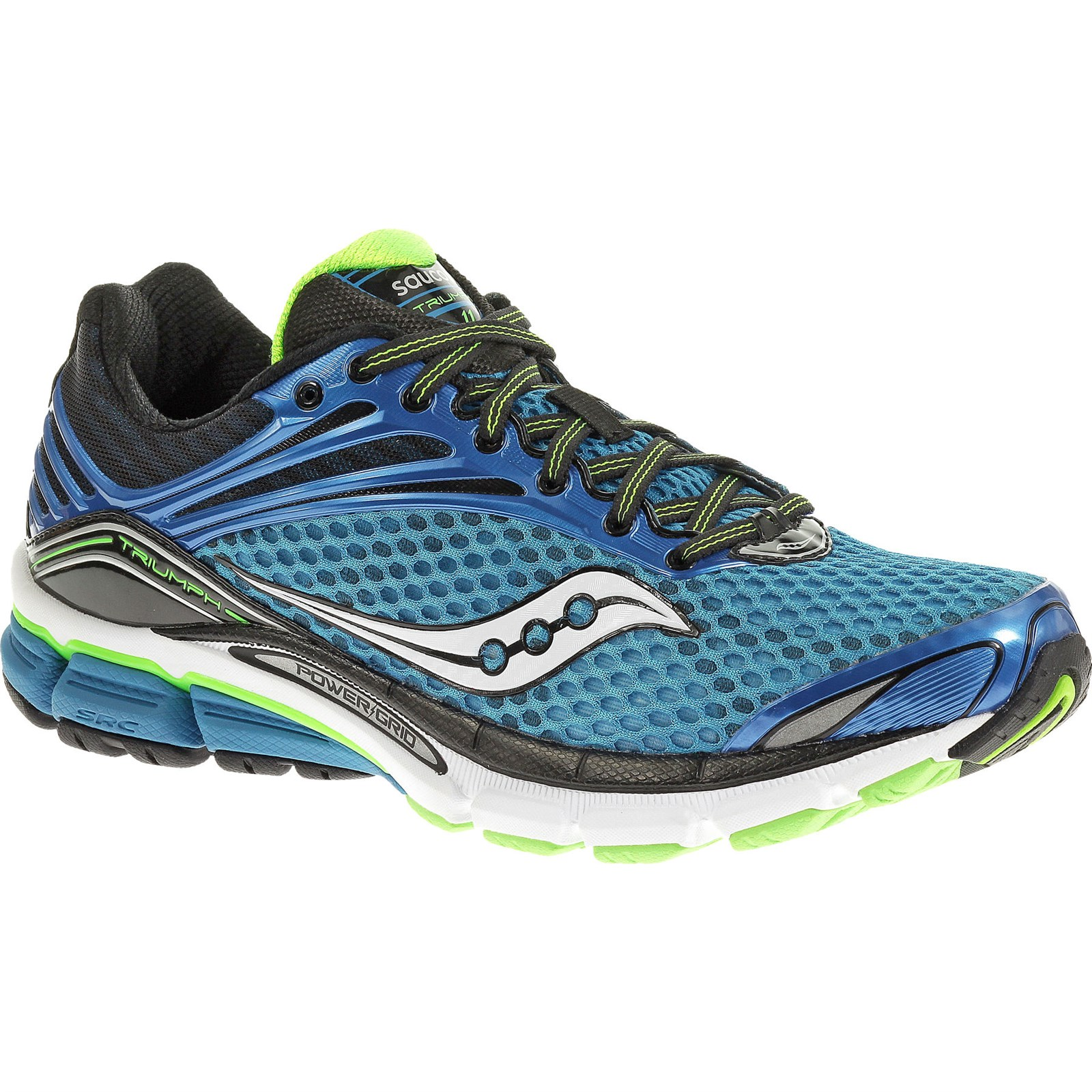 new saucony powergrid triumph 11 running shoes mens size